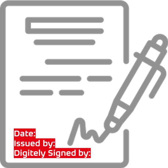 digital signing